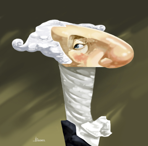 Cartoon: George Washington (medium) by Ulisses-araujo tagged george,washington,caricature