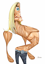 Cartoon: Iggy Pop (small) by Ulisses-araujo tagged iggy,pop