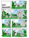 Cartoon: lüge (small) by sam tagged sex,frau,sam,bund,character,sommer,strand