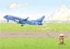 Cartoon: Boeing 737 (small) by astaltoons tagged boeing