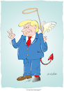 Cartoon: Trump (small) by astaltoons tagged trump