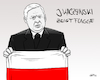 Cartoon: Kaczynski zeigt Flagge (small) by INovumI tagged jaroslaw,kaczynski,flagge,reichsflagge,deutschland