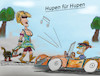 Cartoon: sommertrend2019 (small) by ab tagged sommer,frau,kleidung,mann,auto