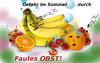 Cartoon: Vorsicht faules Obst (small) by ab tagged obst,faul