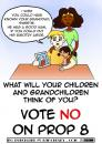 Cartoon: Proposition 8 (small) by karchesky tagged proposition,eight,vote,marriage,same,sex,gay,lesbian,racism