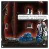 Cartoon: Gassisackerl (small) by Night Owl tagged hund,gassigehen,gassi,polizei,ordnungsamt,kackbeutel,kot,plastiktüte,plastiksack,dog,walk,fouling,bag,police