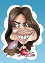 Cartoon: Penelope Cruz (small) by Romero tagged penelope,cruz,portrait,woman,art,caricature,girl,love