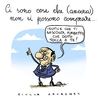 Cartoon: Fiducia (small) by Giulio Laurenzi tagged fiducia