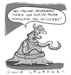Cartoon: Nucleare (small) by Giulio Laurenzi tagged nucleare