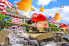 Cartoon: July 4th (small) by Bart van Leeuwen tagged july,independence,day,trump,fourth,of,tanks