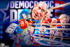 Cartoon: Michael Bloomberg 2020 race (small) by Bart van Leeuwen tagged michael,bloomberg,2020,presidential,race,democrats,major,new,york,primary,elections