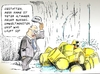 Cartoon: Antrittsbesuch (small) by Paolo Calleri tagged bundesumweltminister,peter,altmaier,atommüll,endlager,schachtanlage,asse,marode,radioaktiv,abfälle,besuch,strahlenmüll,wasser,energiewende,atomar
