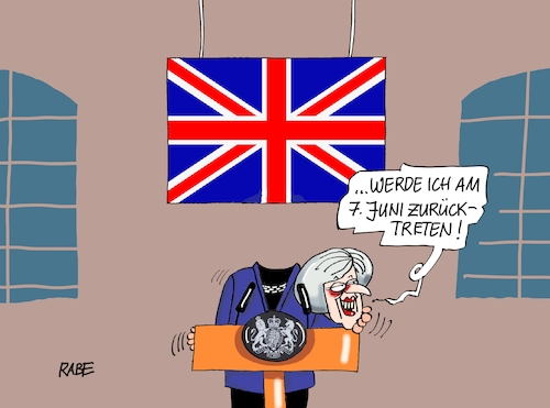 Cartoon: Rücktritt May (medium) by RABE tagged brexit,eu,insel,may,britten,austritt,rabe,ralf,böhme,cartoon,karikatur,pressezeichnung,farbcartoon,tagescartoon,bauhaus,baukasten,bauklötzer,plan,referendum,februar,irre,irrsinn,rücktritt,downing,street,europawahlen,kopf,arm,rednerpult,brexit,eu,insel,may,britten,austritt,rabe,ralf,böhme,cartoon,karikatur,pressezeichnung,farbcartoon,tagescartoon,bauhaus,baukasten,bauklötzer,plan,referendum,februar,irre,irrsinn,rücktritt,downing,street,europawahlen,kopf,arm,rednerpult