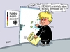 Cartoon: Boris Johnson (small) by RABE tagged cameron,england,briten,austritt,verbleib,eu,brüssel,volksentscheid,leave,rabe,ralf,böhme,cartoon,karikatur,pressezeichnung,farbcartoon,tagescartoon,boris,johnson,außenminister,premierministerin,may