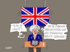 Cartoon: Brexit Szenario (small) by RABE tagged brexit,eu,insel,may,britten,austritt,rabe,ralf,böhme,cartoon,karikatur,pressezeichnung,farbcartoon,tagescartoon,bauhaus,baukasten,bauklötzer,plan,referendum,februar
