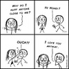 Cartoon: Why? (small) by heyokyay tagged love,hurt,hurting,pain,feelings,relationship,heyokyay