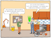 Cartoon: AR in der Industrie 4.0 (small) by CloudScience tagged augmented,reality,virtual,virtuelle,realitaet,industrie,40,produktion,wirtschaft,technik,technologie,reparatur,wartung,defekt,reparieren,mechaniker,iot,internet,der,dinge,digitalisierung,digital,assistent,roboter,programm,robotik,daten,sensoren,datenbrille,holografisch,holo,menue,arbeit