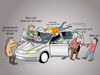 Cartoon: Carsharing (small) by CloudScience tagged carsharing,sharing,shareconomy,sharingeconomy