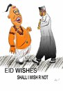 Cartoon: eid wishes (small) by anupama tagged eid,wishes