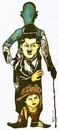 Cartoon: charles chaplin (small) by DANIEL EDUARDO VARELA tagged cine