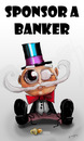 Cartoon: Sponsor a Banker (small) by duplex2 tagged banks