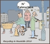 Cartoon: Recycling heute (small) by michaskarikaturen tagged harz4,armut