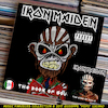 Cartoon: Iron Maiden - The Book of Souls (small) by Peps tagged iron,maiden,the,book,of,souls