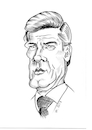 Cartoon: Sir Roger Moore (small) by Thomas Vetter tagged sir,roger,moore
