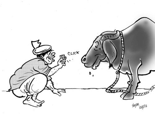 Cartoon: indian cartoonist (medium) by shyamjagota tagged cartoon,indian
