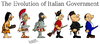 Cartoon: Italian Government in history (small) by Ludus tagged italy,berlusconi
