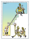 Cartoon: Dictator (small) by kifah tagged dictator