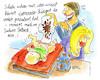 Cartoon: elternstolz (small) by REIBEL tagged eltern,baby,windel,kacke,stolz,kunst,muster,mama,papa