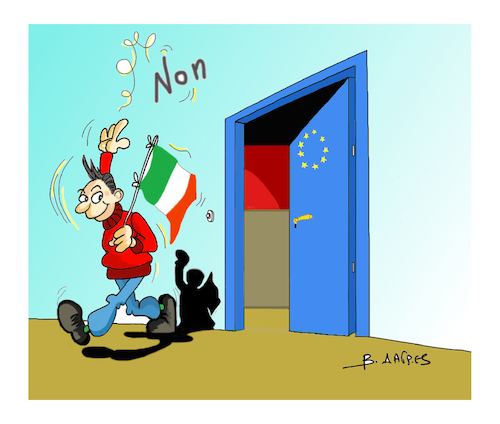 Cartoon: Italian elections (medium) by vasilis dagres tagged italian,elections