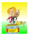 Cartoon: german government (small) by vasilis dagres tagged merkel,schulz,german,government