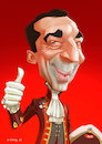Cartoon: Christian Kern (small) by xiding tagged christian,kern,caricature,karikatur