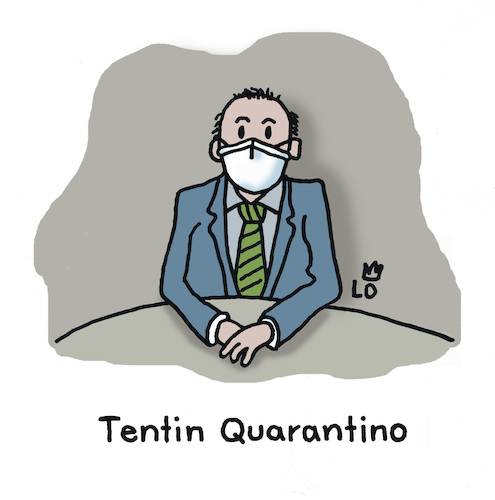 Cartoon: In Quarantäne (medium) by Lo Graf von Blickensdorf tagged coronavirus,quarantäne,gesichtsmaske,grippeschutzmaske,mundschutz,covid19,regie,regisseur,quentin,tarantino,pulp,fiction,karikatur,lo,cartoon,pandemie,epidemie,wortspiel,grippe,schutz,coronavirus,quarantäne,gesichtsmaske,grippeschutzmaske,mundschutz,covid19,regie,regisseur,quentin,tarantino,pulp,fiction,karikatur,lo,cartoon,pandemie,epidemie,wortspiel,grippe,schutz