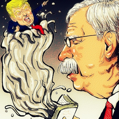 Cartoon: You are fired (medium) by takeshioekaki tagged bolton