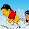 Cartoon: Hongkong (small) by takeshioekaki tagged hongkong
