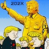 Cartoon: Near future (small) by takeshioekaki tagged trump