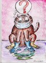 Cartoon: bestial coronovirus (small) by vadim siminoga tagged cats,coronovirus,retailers,infection,uniform,pet,contact