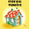Cartoon: Stay Home Turkey (small) by Orhan ATES tagged corona,virus,humanity,danger,life,nature,dead,stay,home,hygiene
