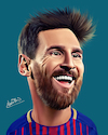 Cartoon: lionel messi (small) by Ahmed Mostafa tagged lionel,messi