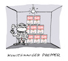 Cartoon: Kellerkunst (small) by Bregenwurst tagged prepper,warhol,suppe,keller,apokalypse