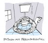 Cartoon: Schlingung (small) by Bregenwurst tagged python,brechdurchfall,infekt,virus,magen,darm