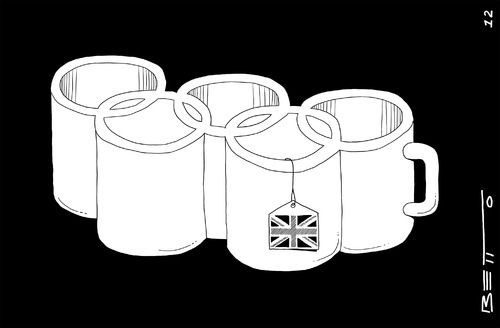 Cartoon: londres 2012 (medium) by BETTO tagged olimpicos
