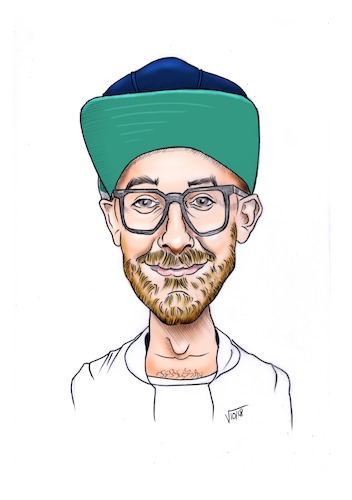 Cartoon: Mark Forster (medium) by Vetters Art tagged karikatur