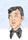 Cartoon: Dean Martin (small) by Thomas Vetter tagged karikatur