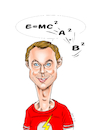 Cartoon: Jim Parsons (small) by Vetters Art tagged karikatur