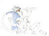 Cartoon: ... (small) by herranderl tagged horror,fiktion