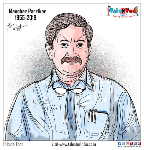 Cartoon: Today Cartoon tribute (medium) by Talented India tagged talented,talentedindia,talentednews,hindinews,latestnews